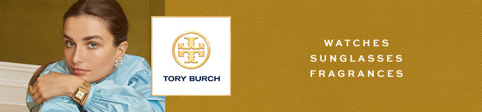 Tory Burch, Watches, Sunglasses, Fragrances