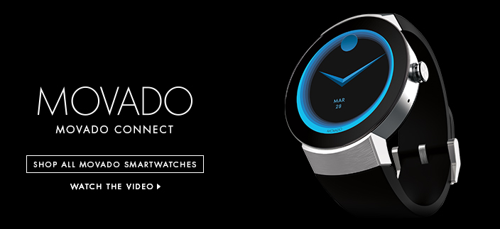Movado, Movado Connect, Shop all Movado Smartwatches, Watch the Video