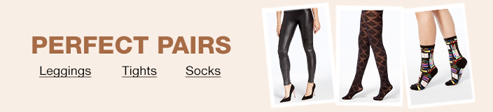 Perfect Pairs, Leggings, Tights, Socks
