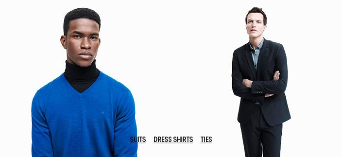 Suits, Dress Shirts, Ties