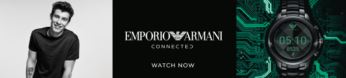 Emporio Armani Connected, Watch now