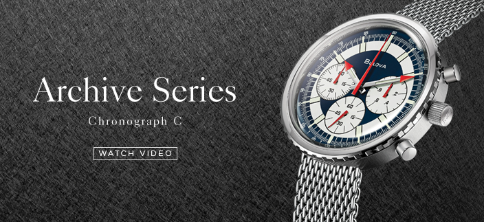 Archive Series Chronograph C, Watch Video
