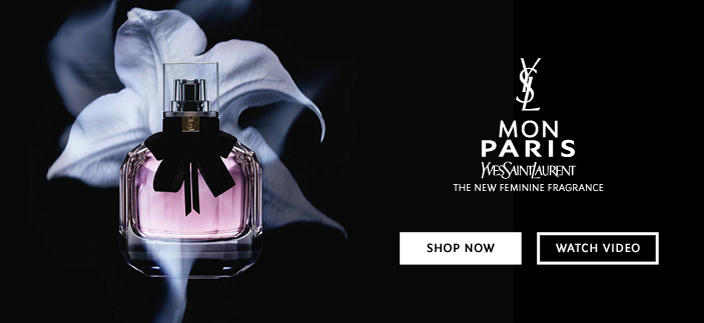 Mon Paris Yves Saint Laurent, The New Fragrance, Shop now