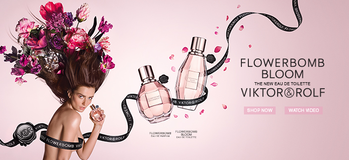 Flowerbomb Bloom, Viktor Rolf, Shop now, Watch Video