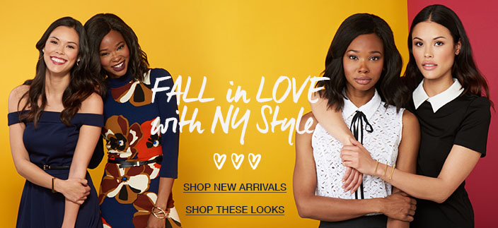 Fall in love with Ny style, Shop New Arrivals, Shop these Looks