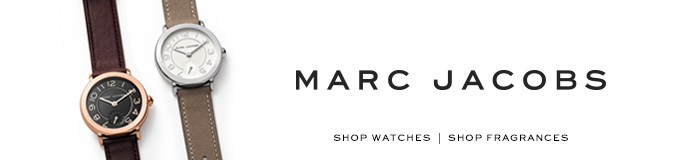 Marc Jacobs, Shop Watches, Shop Fragrances