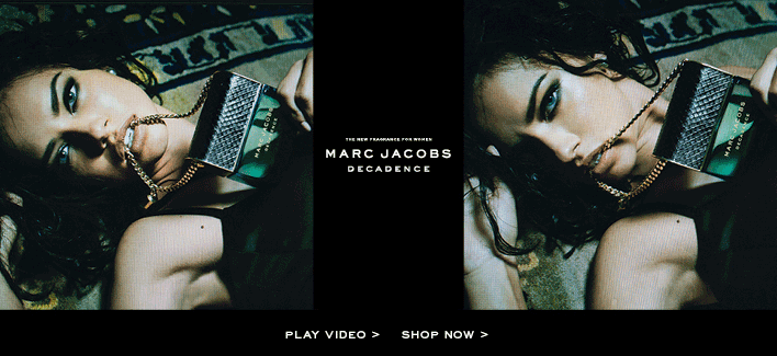 The new fragrance for women. Marc Jacobs Decadence. Play video. Shop now.