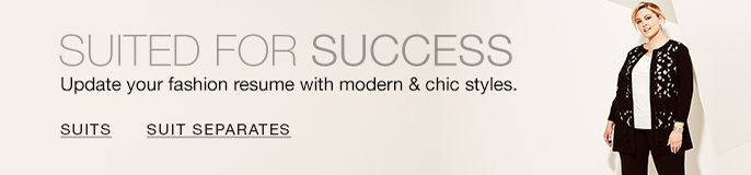 Suited For Success, Update your fashion resume with modern and chic styles, Suits, Suit Separates