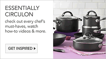 Essentially Circulon, check out every chef's must have, watch how to videos and more. Get Inspired