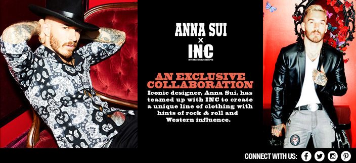 Anna Sui x INC, An Exclusive Collaboration