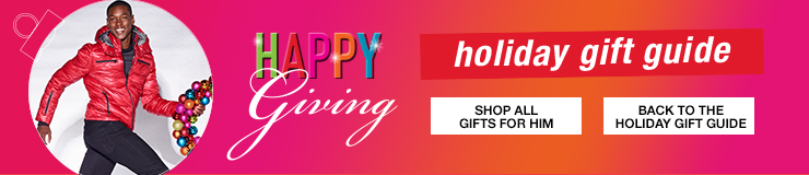 Happy Giving, Holiday Gift Guide, Shop All Gifts for Him, Back to the Holiday Gift Guide