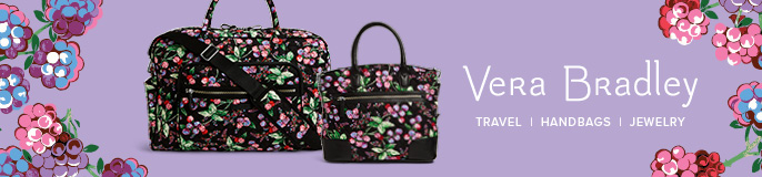 Vera Bradley, Travel, Handbags, Jewelry