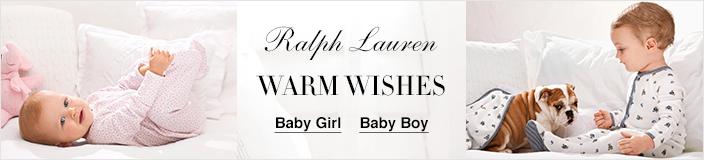 Ralph Lauren, Warm Wishes, Baby Girl, Baby Boy