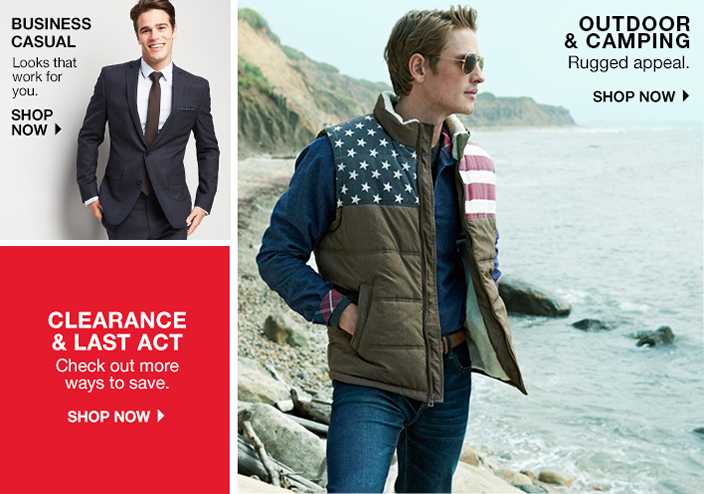 Mens Clothing & Men's Apparel - Designer Brands & Fashion Styles ...