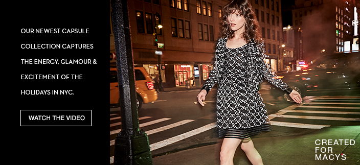 Our Newest Capsule Collection, Captures the Energy, Glamour and Excitment of the Holidays in Nyc, Watch the Video