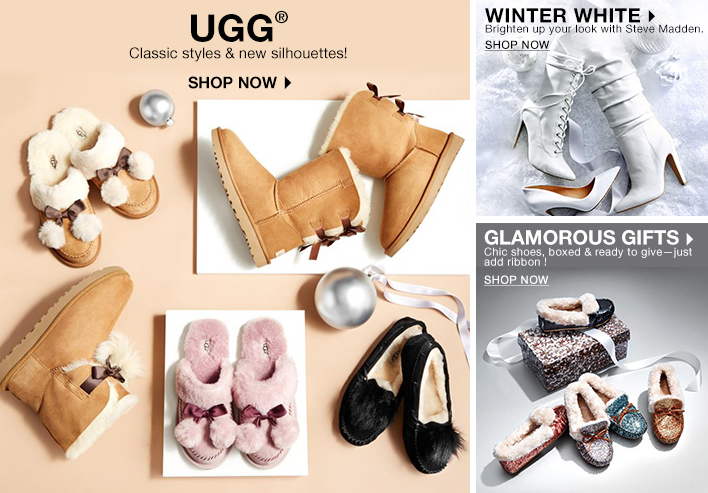 UGG, Shop Now, Winter White, Shop Now, Glamorous Gifts, Shop Now
