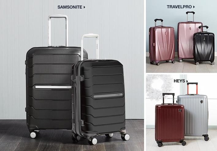 Samsonite, Travelpro, Heys