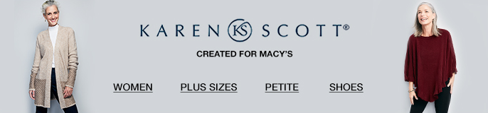 Karen Scott, Created for Macy's, Women, Plus Sizes, Petite, Shoes