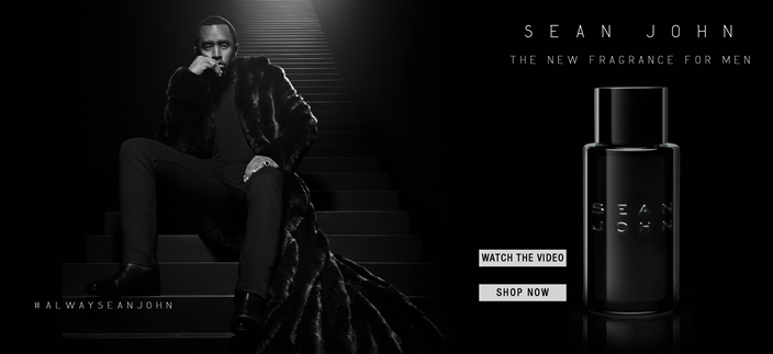 Sean John, The New Fragrance For Men, Watch the Video, Shop now