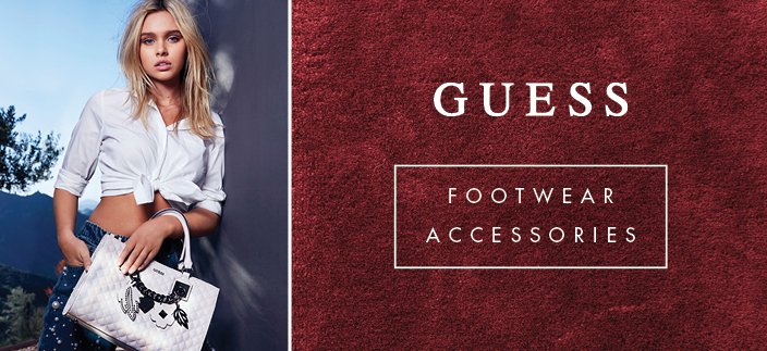 Guess, Footwear, Accessories