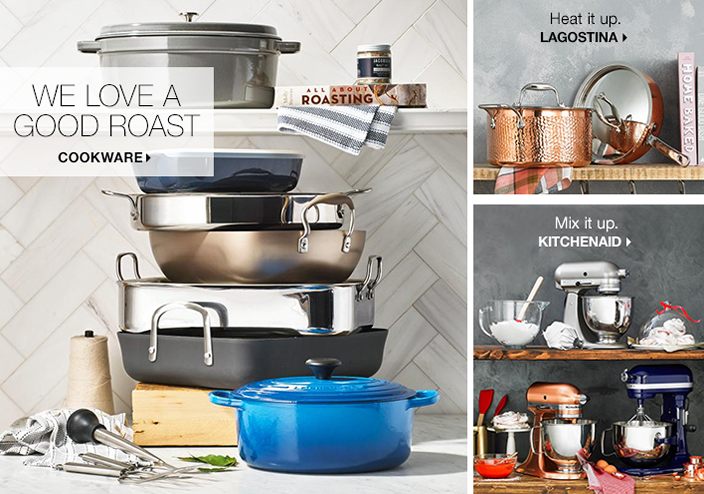 We Love a Good Roast, Cookware, Heat it up, Lagostina, Mix it up Kitchenaid