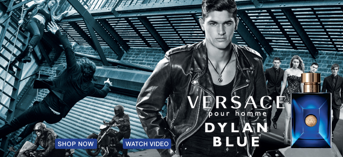 Versace, pour homme, Dylan Blue, Shop Now, Watch Video