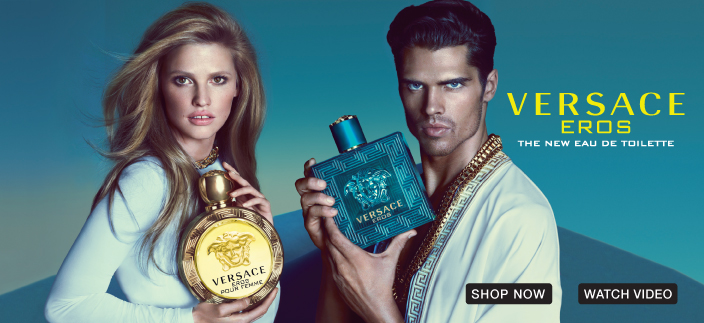 Versace Eros, The New Eau de Toilette, Shop Now, Watch Video