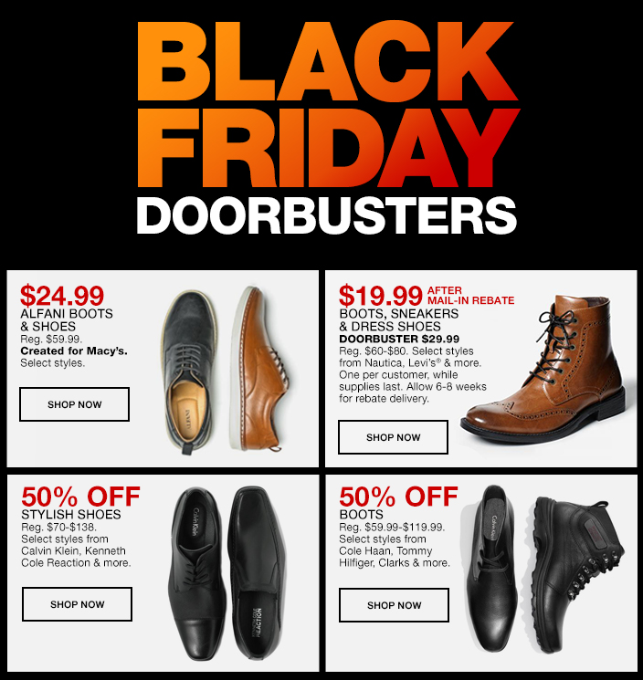 Macys Mens Dress Shoes Black Friday