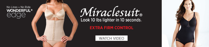 Miraclesuit, Look 10 lbs lighter in 10 seconds, Extra Firm Control, Watch Video