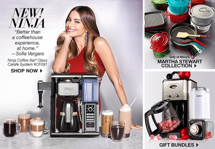 New Coffee Maker Sofia Vergara : Kitchen Appliances, Cookware & More - Macy s