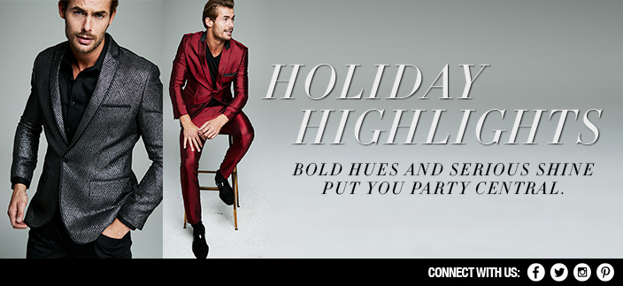 Holiday Highlights, Bold Hues And Serious Shine Put You Party Central