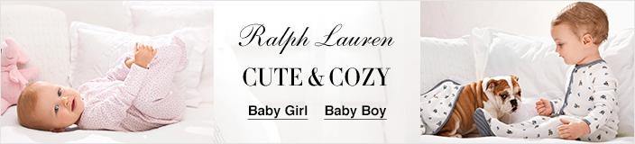 Ralph Lauren, Cute and Cozy, Baby Girl, Baby Boy