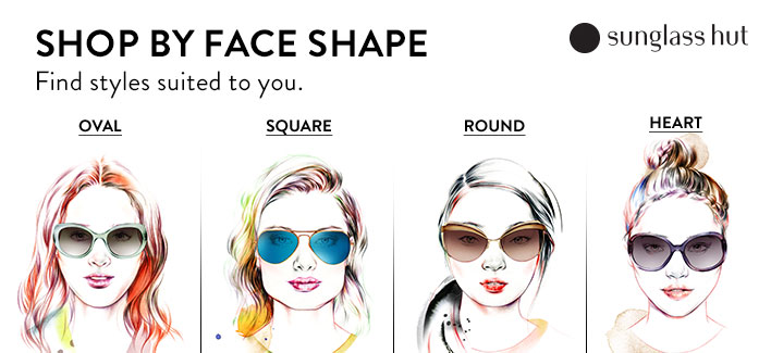womens ray bans on sale 0bsm  Shop by Face Shape, Find styles suited to you, Sunglass hut, Oval,