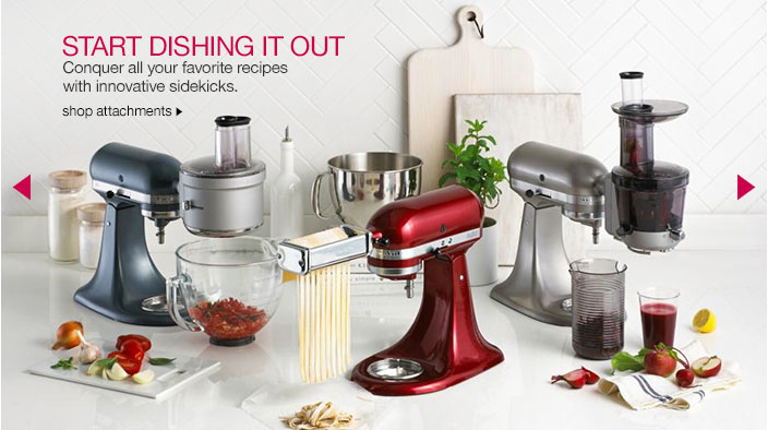 start dishing it out. conquer all your favorite recipes with innovative sidekicks.