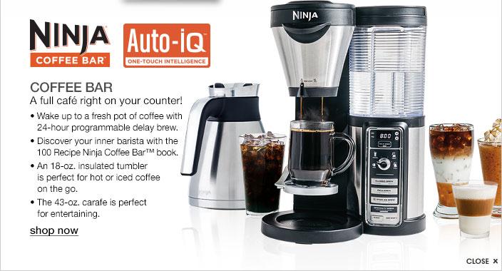 C6040693 105 06 Ninja Coffee Bar Auto Iq One Touch Intelligence