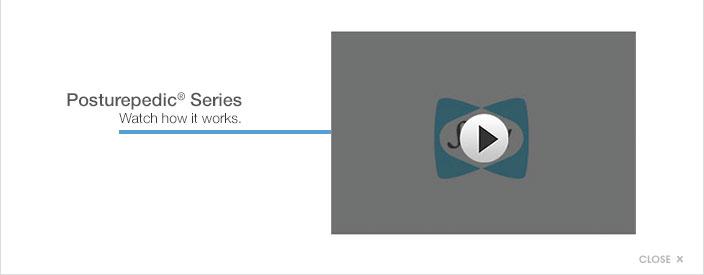 Posturepedic series. Watch how it works.