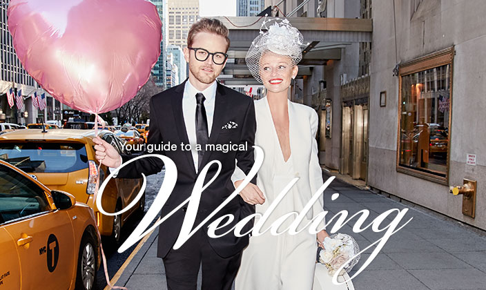 your guide to a magical wedding
