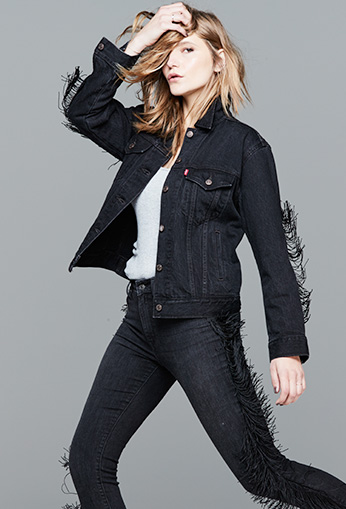 created for Macy's Levis