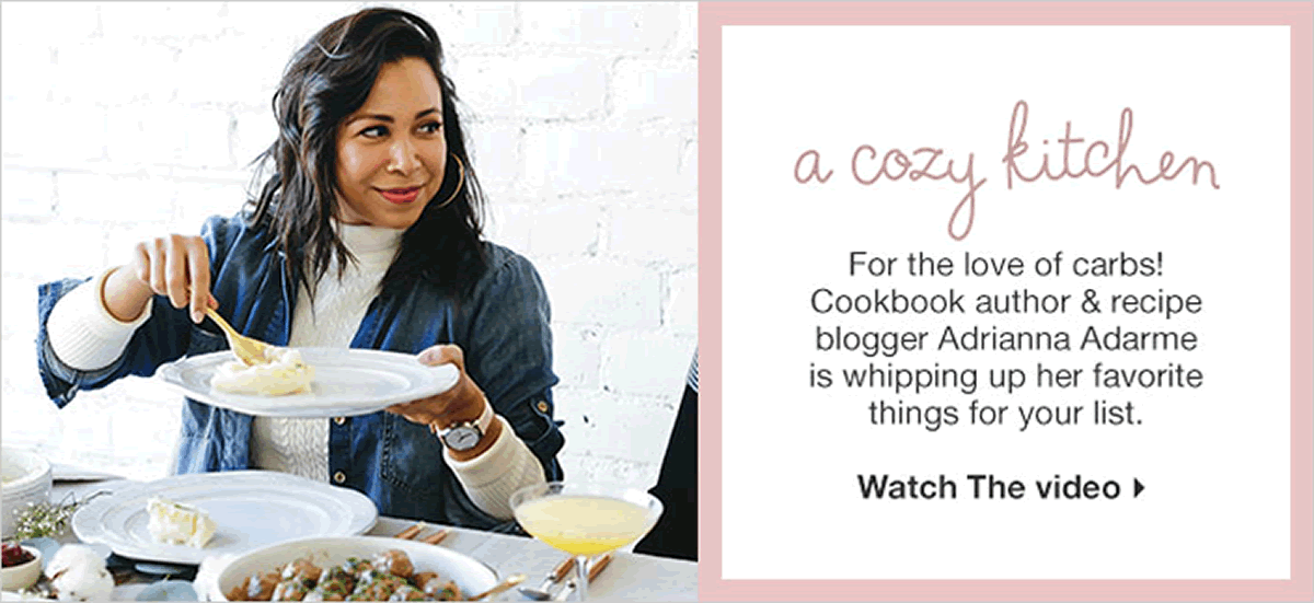 A Cozy Kitchen, For The Love Of Carbs! Cookbook Author And Recipe Blogger  Adrianna