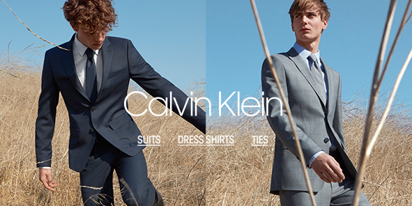 Calvin Klein, Suits, Dress Shirts, Ties