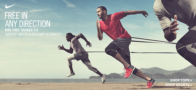 Free in any Direction, Nike Free Trainer 5.0, Support Meet Ultralight Flexibility, Shop Tops, Shop Sports