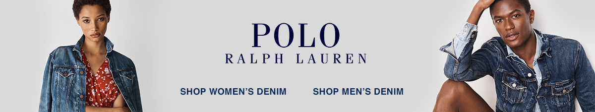 Polo Ralph Lauren, Shop Women's Denim, Shop Men's Denim