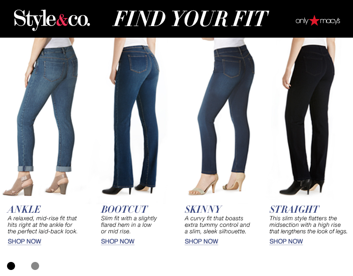 Style & Co Jeans - Womens Apparel - Macy's