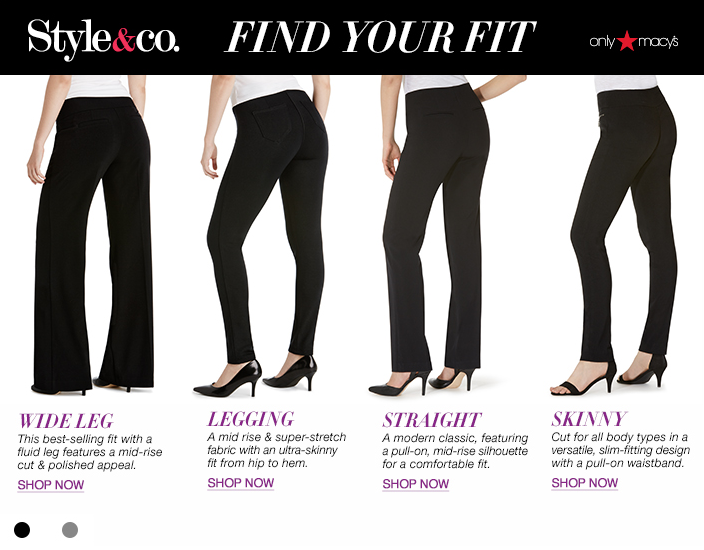 Style & Co Pants - Womens Apparel - Macy's