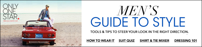 Only One Star, Men's Guide to Style, tools and Tips to Steer Your Look in the Right Direction