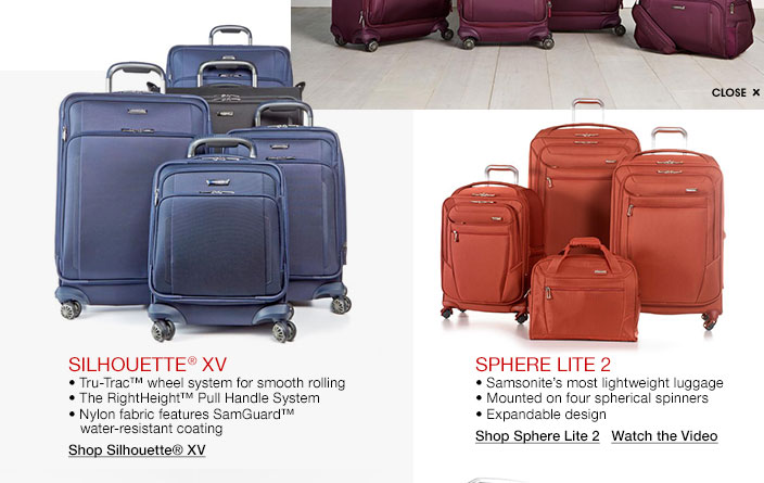 Samsonite Luggage Sets for Travel - Macy's