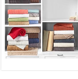 Closet Laundry Organization