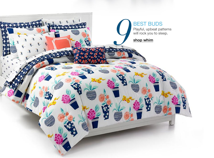 Best Buds - Playful, upbeat patterns will rock you to sleep.