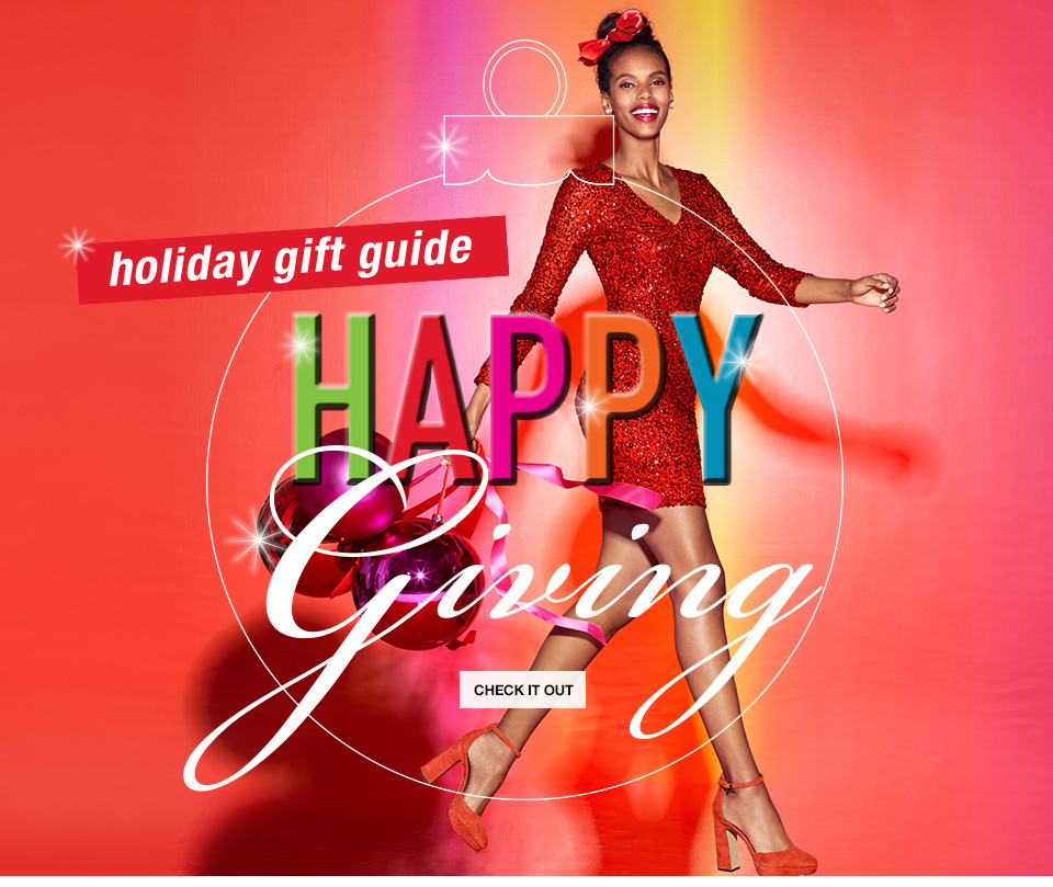 holiday gift guide, happy giving