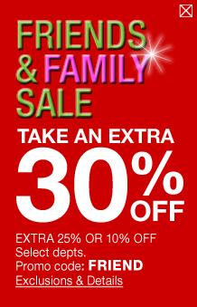 30 percent coupon macys